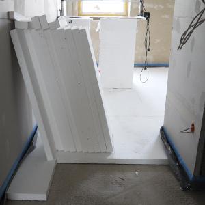 Vorbereitungsarbeiten für die Herstellung von Estrich